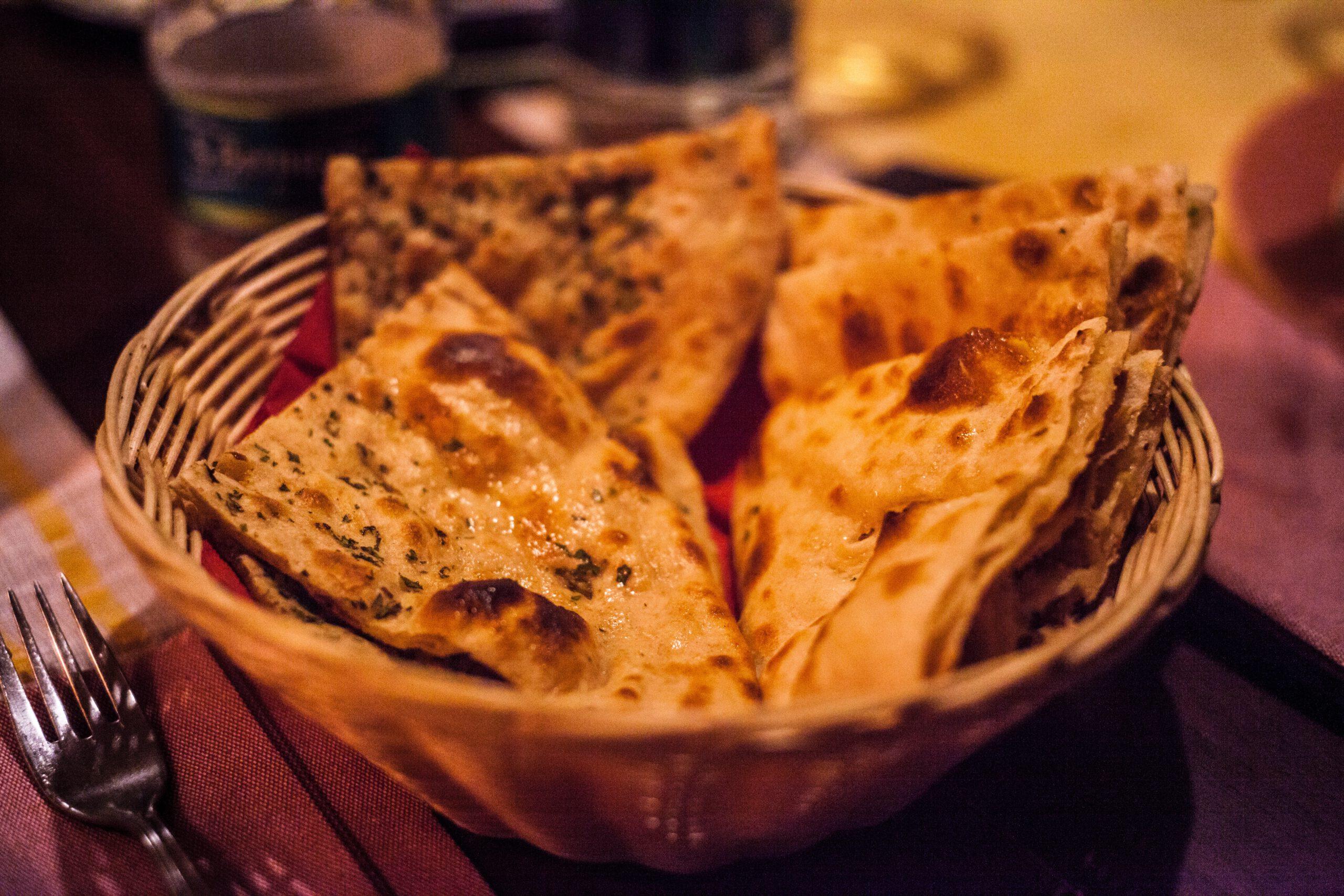 Indisches Brot (Naan)